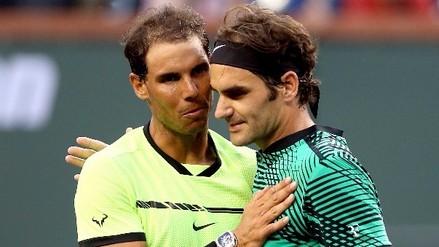 Roger Federer eliminó a Rafael Nadal del Masters 1000 de Indian Wells