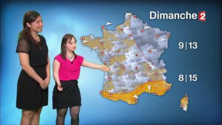 La TV de Francia tiene a su primera conductora con síndrome de Down