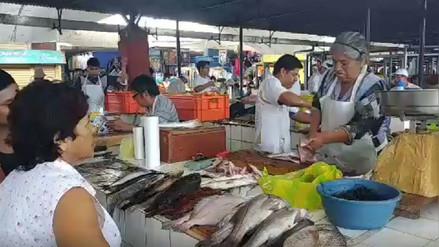 Precio del pescado empezó a subir en mercados de Lambayeque