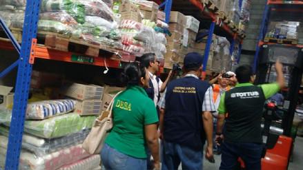 Piura: inspeccionan supermercados por stock de productos