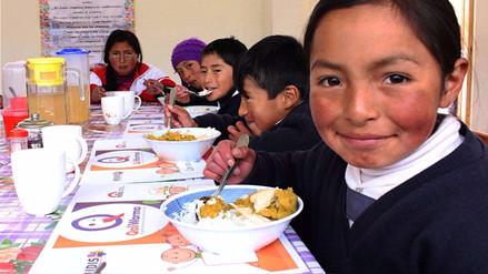 Qali Warma espera concluir entrega de alimentos a instituciones educativas