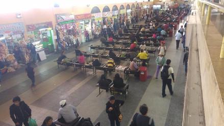 Demanda de pasajes interprovinciales disminuyó en 50% en Arequipa