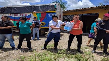 Congresistas se unieron para llevar ayuda a familias afectadas por lluvias