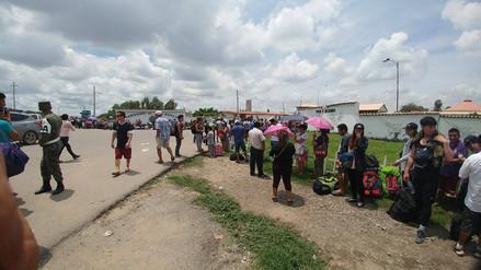 Chiclayo: cientos de personas buscan abordar avión y llegar a sus destinos
