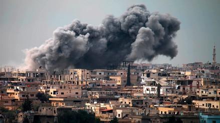 Israel bombardeó Siria, que respondió con misiles antiaéreos