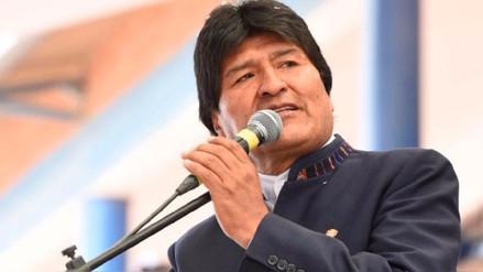 Evo Morales envió un mensaje a PPK para expresar su solidaridad con el Perú