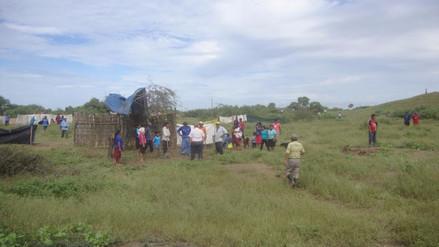Lambayeque: 350 familias que invadieron huaca Los Perros serán reubicadas