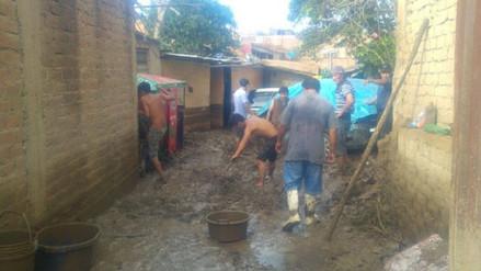Trujillo: familias de Víctor Larco quedan damnificadas tras desborde de quebrada