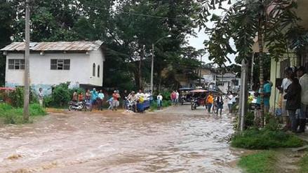 Desborde de los ríos Saposoa y Sisa dejan más de 25 familias damnificadas
