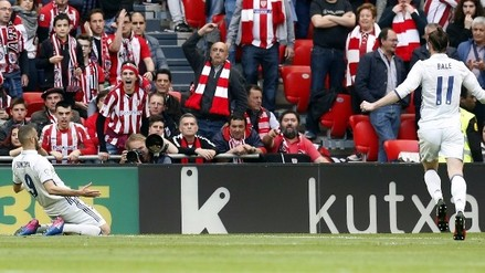 Real Madrid venció al Athletic Club y alargó su importante racha