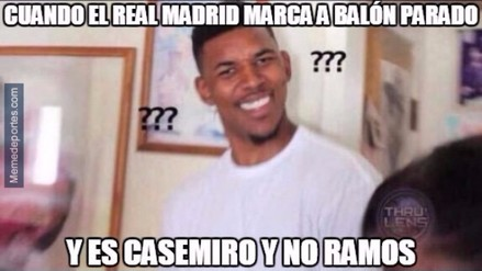 Los memes que generó la victoria del Real Madrid ante el Athletic Club