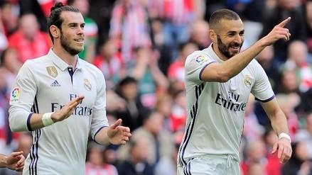 La excelente jugada del Real Madrid que terminó en gol de Karim Benzema
