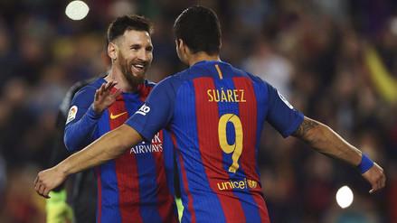 Barcelona venció al Valencia y se aferra a la punta de la Liga Santander