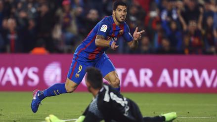 Neymar sorprendió a todos y dejó solo a Suárez para el gol de Barcelona