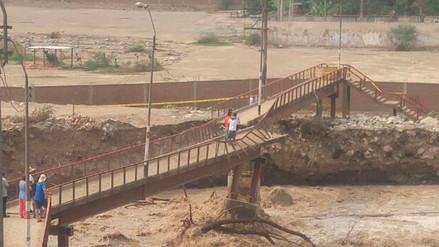Video | Colapsó el puente Javier Pérez de Cuellar y dejó aislado Huampaní