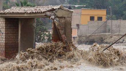 Todas las viviendas en asentamiento en Ñaña quedaron destruidas