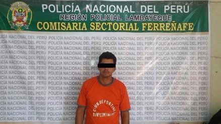 Lambayeque: detienen a sujeto por realizar disparos al aire en Ferreñafe