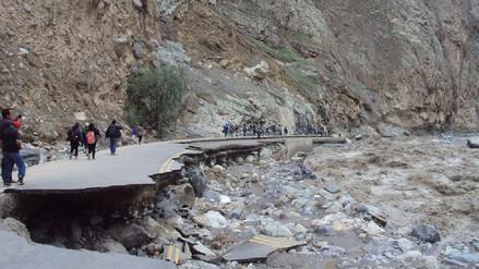 Desborde de río y huaico afecta a provincias de Huaura