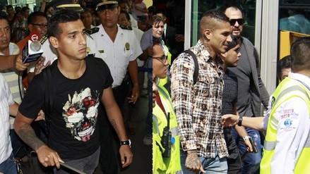 Guerrero y Trauco llegaron a Lima para entrenar con la Selección Peruana