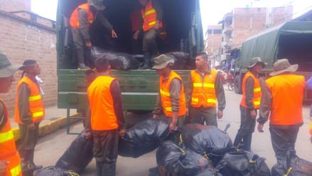 Cajamarca: 10 toneladas de ayuda para distritos afectados en Contumazá