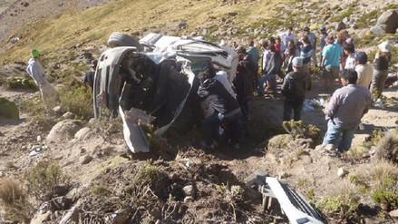 Hasta tres accidentes diarios se registran en carretera Arequipa-Imata
