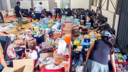Produce: Se enviaron 227 toneladas de ayuda humanitaria a damnificados