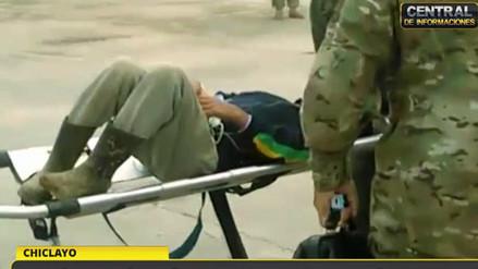 Video | Fuerza Aérea rescató a niño aislado que sufrió apendicitis en Incahuasi