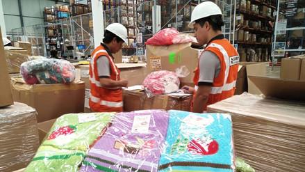 Sunat entregó 16 toneladas de bienes para zonas en emergencia