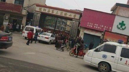 Una estampida humana en un colegio de China dejó dos niños muertos