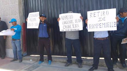 Transportistas piden exoneración de peaje por mal estado de carreteras