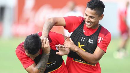 Excelente ánimo en la última práctica de la Selección Peruana en Lima