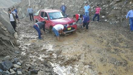 Yungay: lluvias aíslan a 37 caseríos del distrito de Quillo