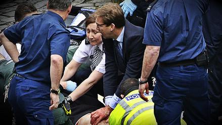 El heroico parlamentario que intentó salvar al policía apuñalado en Londres
