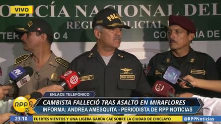 Delincuentes asesinaron a un cambista para robarle 30,000 dólares en Miraflores