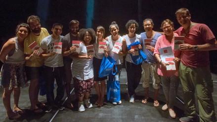 Actores ofrecen funciones de teatro a beneficio de damnificados