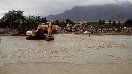 Virú: avance de badén en La Alameda a un 70%