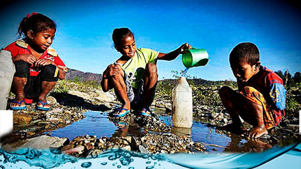 Unicef: 600 millones de niños vivirán en zonas con poca agua para 2040