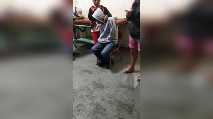 Lambayeque: caída de rayo dejó un herido en el distrito de Olmos