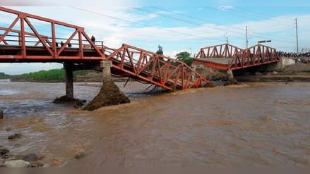 Virú: puente sigue dañado y tránsito interrumpido en Panamericana