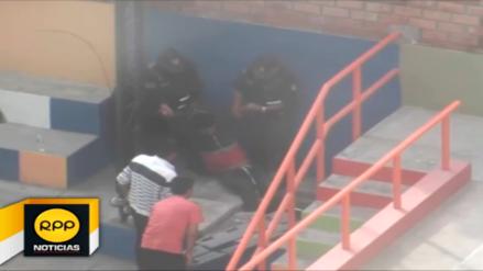 Arequipa: rescatan a joven que intentó suicidarse dentro de buzón