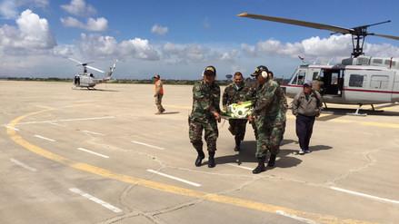 Helicópteros rescatan a niño aislado con problemas respiratorios en Inkawasi