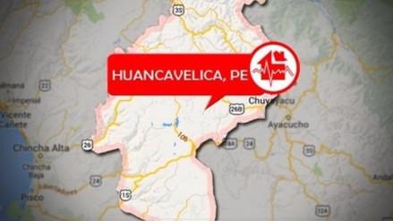 Un sismo de 4.5 grados remeció Huancavelica esta noche