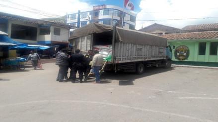 Más de 200 sacos de azúcar fueron inmovilizados en Urcos