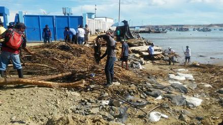 Piura: rehabilitan accesos a Yacila tras activación de cinco quebradas