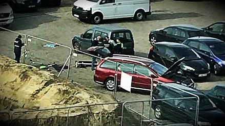 La Policía belga detuvo un ataque en auto a una multitud en la ciudad de Amberes