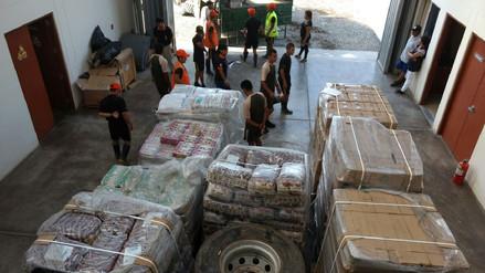 Defensa Civil inicia traslado de alimentos para damnificados de Lambayeque