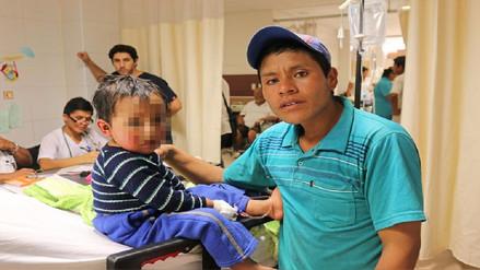 Se recupera satisfactoriamente niño rescatado en helicóptero desde Inkahuasi