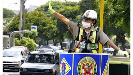 Lambayeque: Policías usarán mascarillas ante riesgo de contraer enfermedades