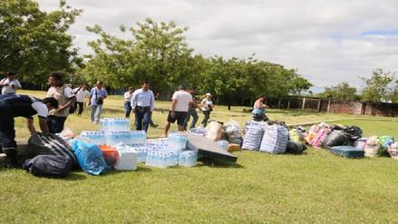 Piura: continúa llegando ayuda para damnificados en Chulucanas