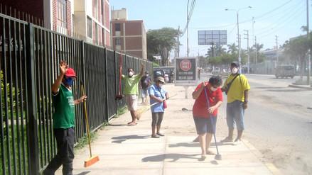 """Iniciarán campaña de limpieza ciudadana """"Manos a la escoba"""" en Chiclayo"""